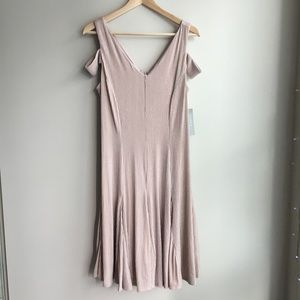 NWT Hope&Harlow cold shower nude dress